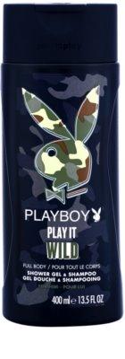 Playboy Play it Wild gel de ducha para hombre