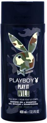 Playboy Play it Wild gel de dus pentru barbati