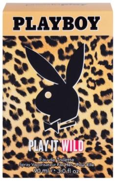 Playboy Play it Wild Eau de Toilette für Damen 1