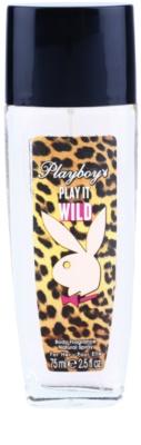 Playboy Play it Wild deodorant s rozprašovačem pro ženy