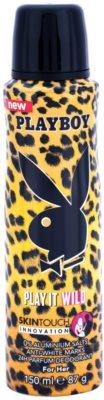 Playboy Play it Wild deodorant Spray para mulheres