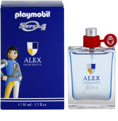 Playmobil Super4 Alex Eau de Toilette para crianças