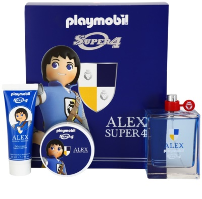 Playmobil Super4 Alex coffret presente
