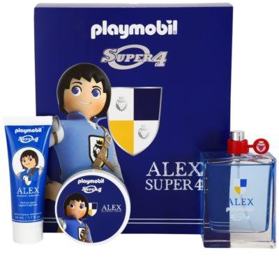 Playmobil Super4 Alex dárková sada