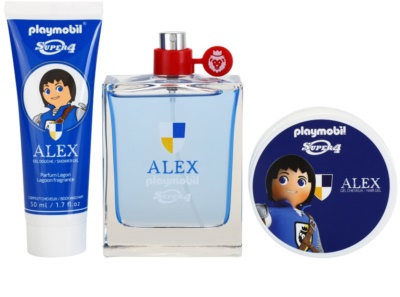 Playmobil Super4 Alex coffret presente 1