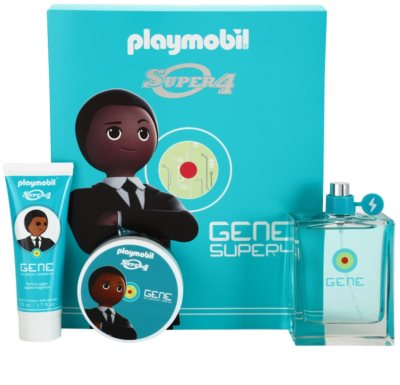 Playmobil Super4 Gene coffret presente