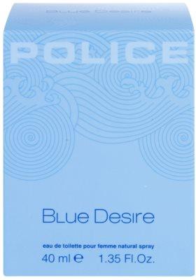 Police Blue Desire woda toaletowa dla kobiet 1