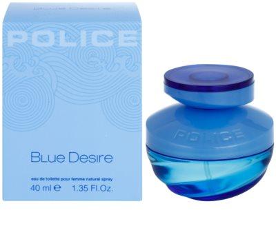 Police Blue Desire туалетна вода для жінок