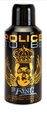 Police To Be The King desodorante en spray para hombre