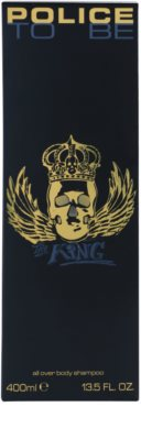Police To Be The King gel de dus pentru barbati 2