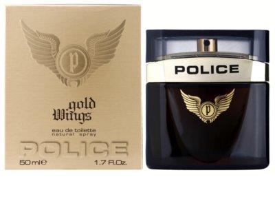 Police Gold Wings туалетна вода для чоловіків