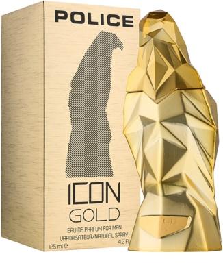 Police Icon Gold парфумована вода для чоловіків 1