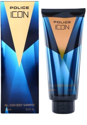 Police Icon gel de duche para homens