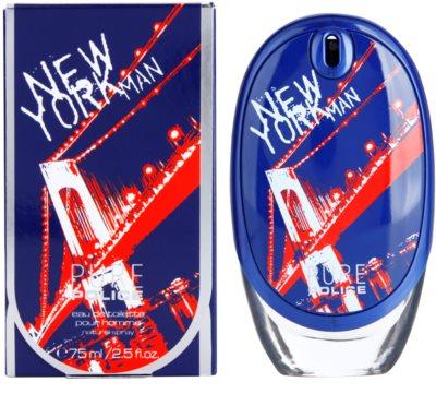 Police Police Pure New York Man eau de toilette férfiaknak