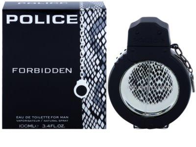 Police Forbidden eau de toilette férfiaknak