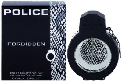 Police Forbidden Eau de Toilette für Herren