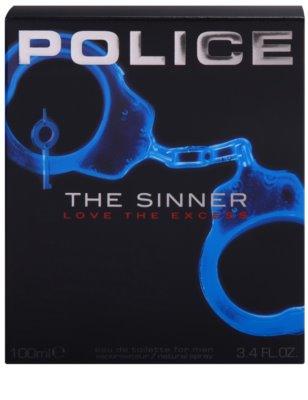 Police The Sinner туалетна вода для чоловіків 4