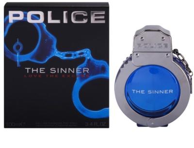 Police The Sinner toaletna voda za moške