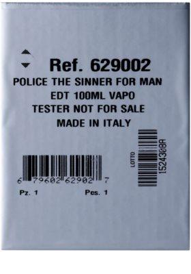Police The Sinner тоалетна вода тестер за мъже 2