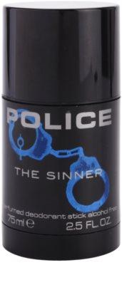 Police The Sinner desodorizante em stick para homens