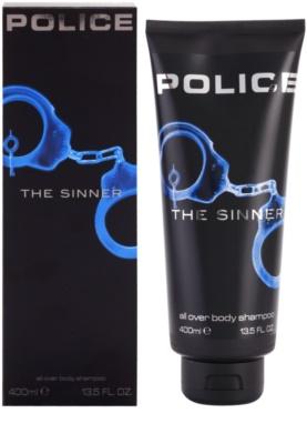 Police The Sinner gel de duche para homens