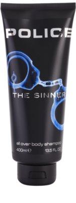 Police The Sinner gel de ducha para hombre 1