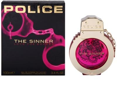 Police The Sinner Eau de Toilette para mulheres