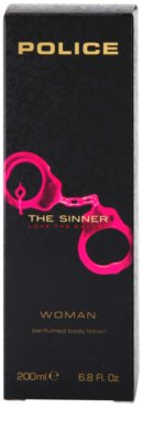 Police The Sinner молочко для тіла для жінок 2