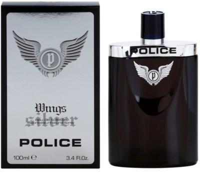 Police Silver Wings Eau de Toilette für Herren
