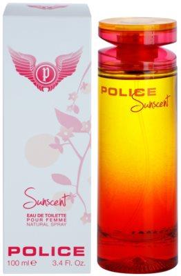 Police Sunscent eau de toilette nőknek