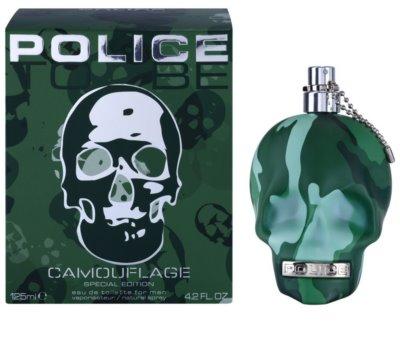 Police To Be Camouflage Eau de Toilette para homens