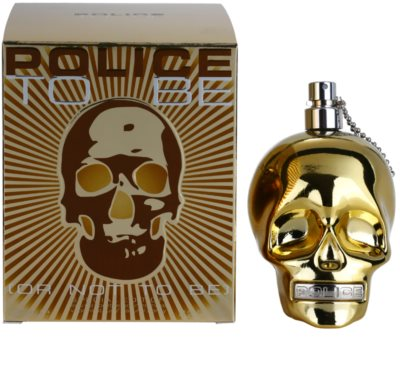 Police To Be To Be Gold Special Edition Eau de Toilette para homens