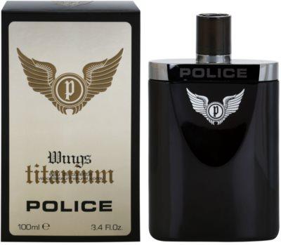 Police Titanium Wings Eau de Toilette para homens