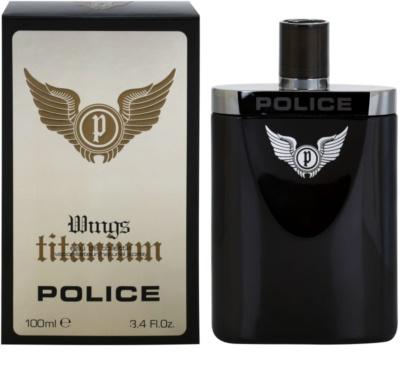 Police Titanium Wings toaletna voda za moške