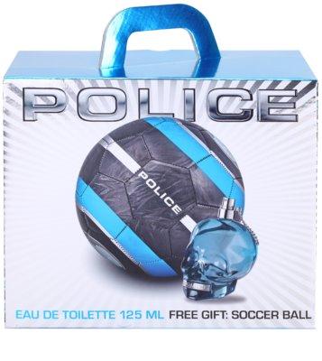 Police To Be dárková sada 1