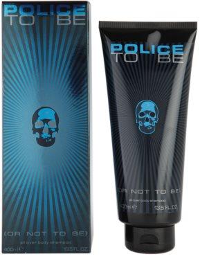 Police To Be gel de ducha para hombre
