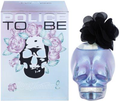 Police To Be Rose Blossom Eau de Parfum para mulheres