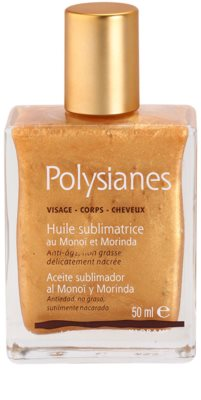 Polysianes Special Care óleo cintilante para rosto, corpo e cabelo