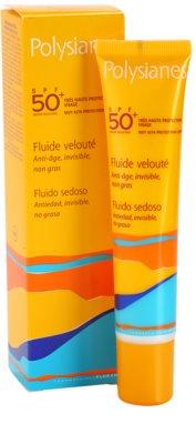 Polysianes Sun Care fluid hidratant anti-rid SPF 50+ 1