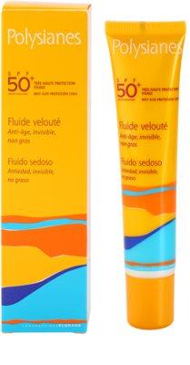 Polysianes Sun Care fluid hidratant anti-rid SPF 50+ 2