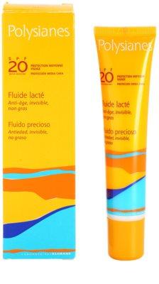 Polysianes Sun Care fluid hidratant anti-rid SPF 20 2