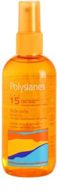 Polysianes Sun Care suchy olejek do opalania SPF 15