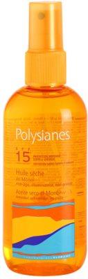 Polysianes Sun Care ulei de bronzat pentru piele uscata SPF 15