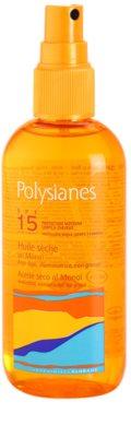 Polysianes Sun Care ulei de bronzat pentru piele uscata SPF 15 1