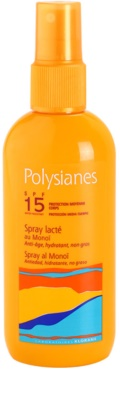 Polysianes Sun Care Bräunungsmilch als Spray SPF 15