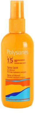Polysianes Sun Care lapte bronzant cu pulverizator SPF 15