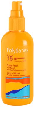 Polysianes Sun Care leche solar en spray SPF 15 1