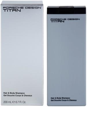 Porsche Design Titan gel za prhanje za moške
