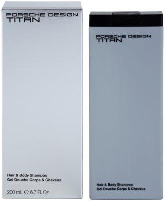 Porsche Design Titan sprchový gel pro muže