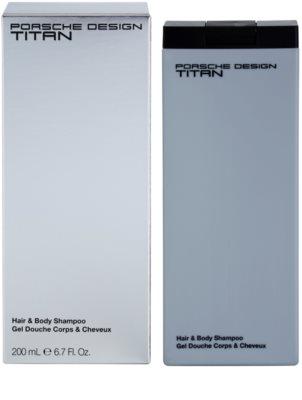 Porsche Design Titan душ гел за мъже